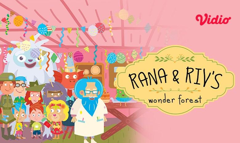 Nonton Kartun Rana & Riv's Wonder Forest di Vidio, Menjelajah Dunia Imajinasi Sesungguhnya