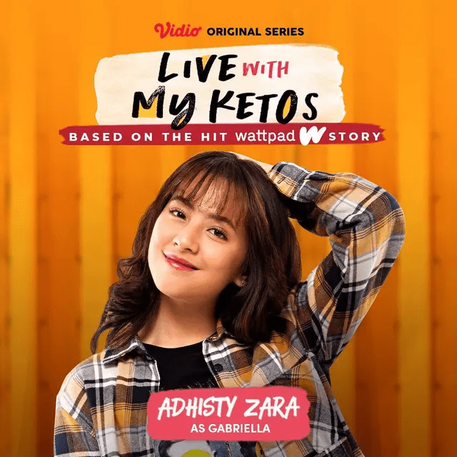 Zara Adhisty Pemain Live with My Ketos