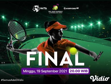 Streaming WTA 250 BGL BNP Paribas Luxembourg Open 2021 Final