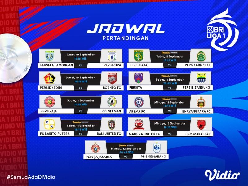 Live Streaming BRI Liga 1 2021 Indonesia Pekan Kedua