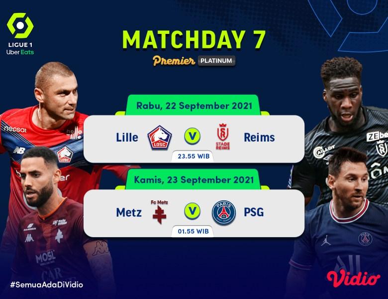 Jadwal Streaming Ligue 1 Prancis 2021 Live Pekan 7