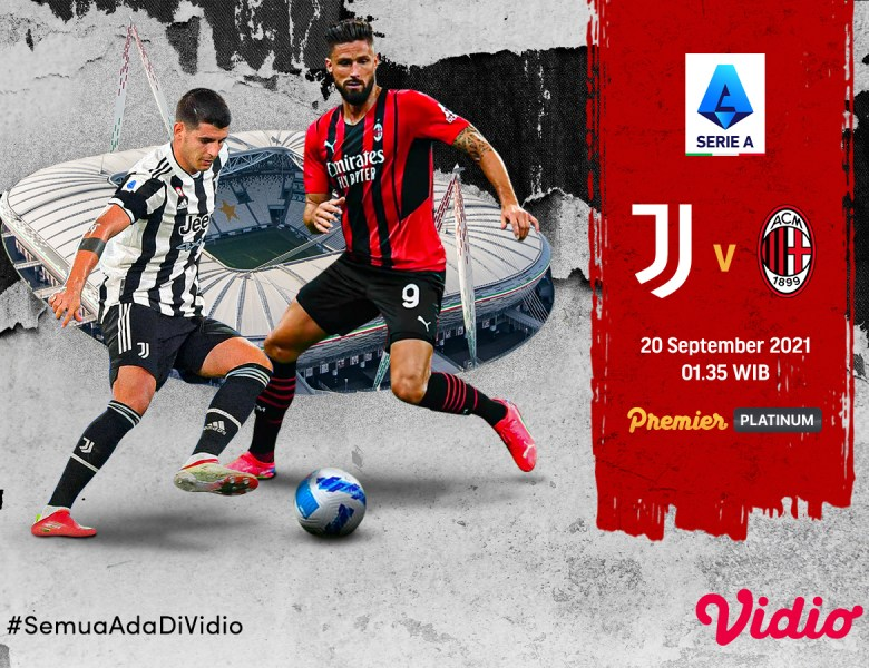 Streaming Serie A Italia 2021 Big Match Juventus Vs AC Milan