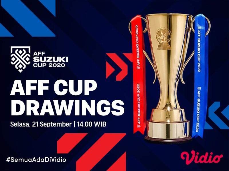 Jadwal dan Link Live Streaming Drawing Piala AFF 2020