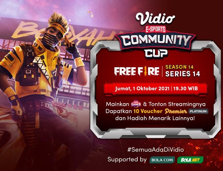 Streaming Vidio Community Cup Season 14 Free Fire Grand Final