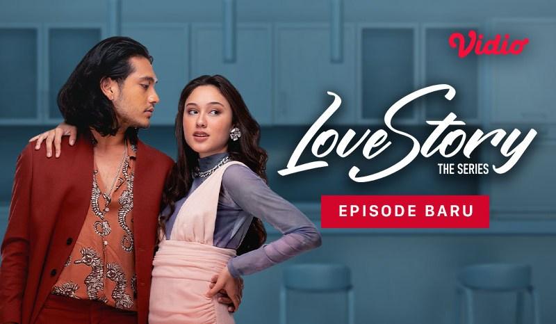 Yasmin Napper dan Achmad Megantara di Love Story The Series!