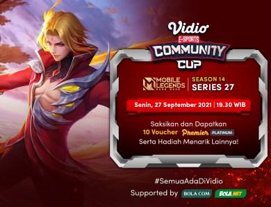 Nonton Vidio Community Cup Season 14 Mobile Legends