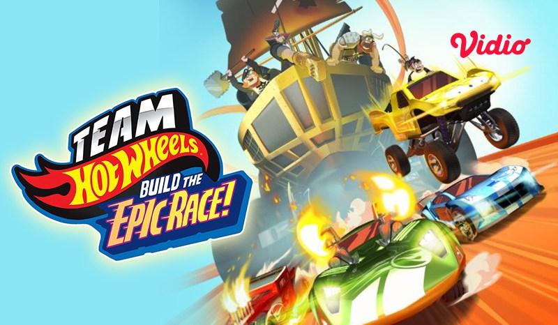 Cara Nonton Team Hot Wheels: Build The Epic Race di Vidio