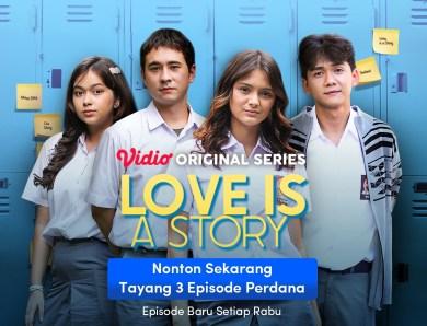Preview Love is a Story Eps 8, Gendis Menjalani Kehidupan Tristan