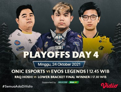 Grand Final! Ini Link Live Streaming MPL ID S8 Babak Playoffs