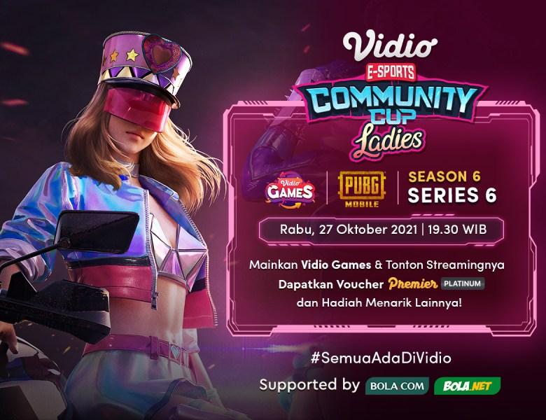 Nonton Vidio Community Cup Ladies Season 6 Free Fire