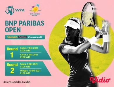 Ashleigh Barty Tidak Tampil, Ini Jadwal Streaming WTA Tour BNP Paribas Open 2021