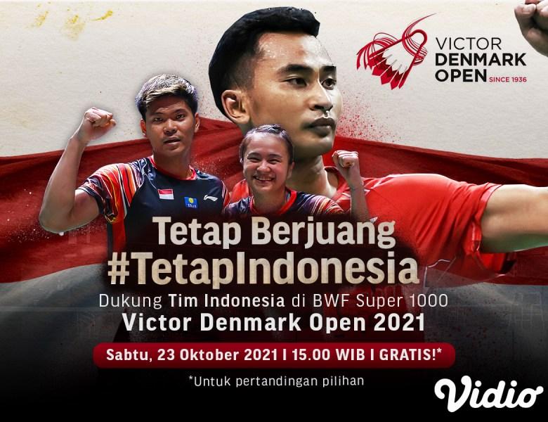Sedang Berlangsung, Live Streaming Indonesia di Denmark Open 2021 Babak Semifinal