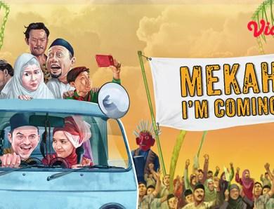 Review Film Mekah I'm Coming, Perjalanan Rizky Nazar Berangkat Haji