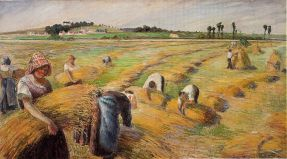 1024px-Camille_Pissarro_-_The_Harvest