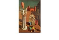 Le Muse inquietanti 1918, Ferrara Olio su tela, cm 97 x 66 Collezione privata