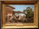 Fabius Brest (Marseille 1823 - Marseille 1900) - Un Caravanserail a Trebizonde