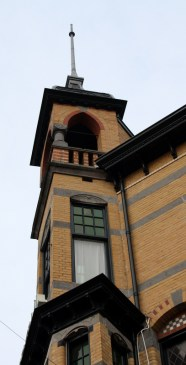 Turret of Centraal Apotheek Leeuwarden