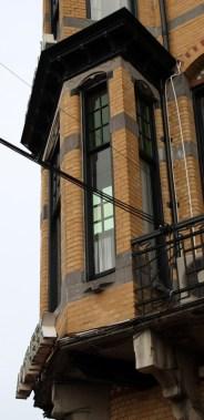 Bay window Detail of Centraal Apotheek Leeuwarden