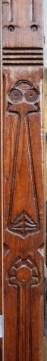 Carved wood Detail of Centraal Apotheek Leeuwarden