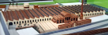 Scale model of Terrassa Textile Factory - Catalan Vaults