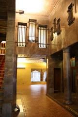 Palau Güell Main Entrance Hall