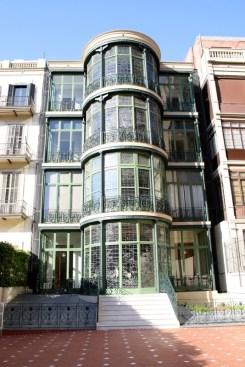 Casa Lleó i Morera Rear Facade