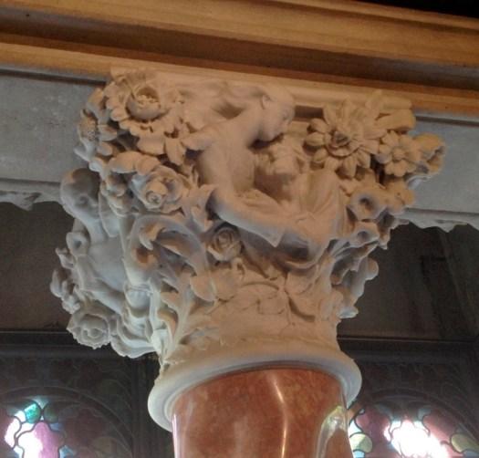 Casa Amatller Marble Pillar