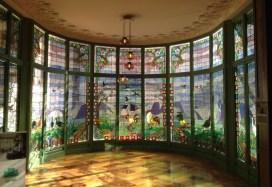 Casa Lleó i Morera Stained Glass Window