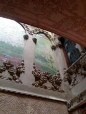 Mosaics Casa Navàs by Lluís Domènech i Montaner