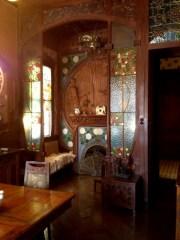 Interior Casa Navas Fireplace