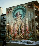 Our Lady of Grace by The Ashop crew sponsored by the City of Montreal and Prevention NDG
