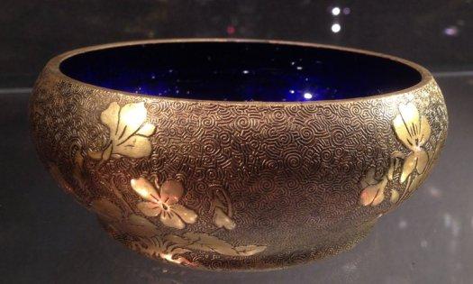 Bronze Bowl Japonism