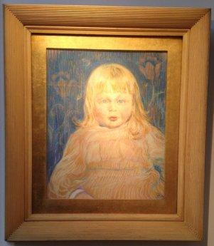 Little Marcel, Théo van Rysselberghe, Gallery Francis Maere (BRAFA 55a)