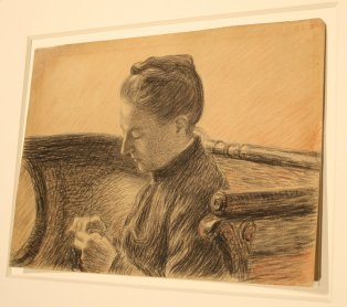 Madame Lemmen 1888, Georges Lemmen (BRAFA 50a)