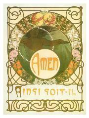 Pages from Le Pater by Alphonse Mucha 1899