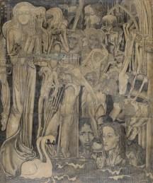 1894 Jan Toorop - Dalende Geloven