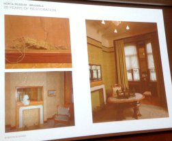 Restoration interior Horta museum