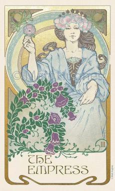 The Empress Matt Hughes Ethereal Visions Tarot Deck