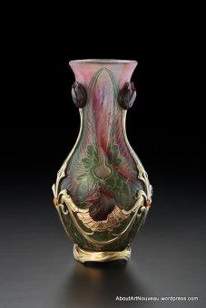 Vase Art Nouveau Philippe Wolfers 1903