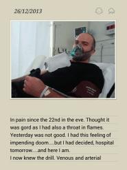 26thDec2013 - Pericarditis admission