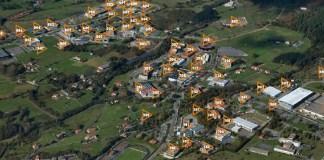 Vista aérea del Parque Tecnológico de Zamudio