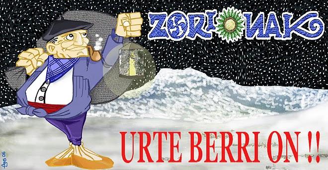 Resultado de imagen de zorionak eta  urte  berri on