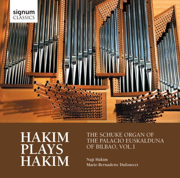 Hakim Plays Hakim: The Schuke Organ of the Palacio Euskalduna Bilbao, Vol.1