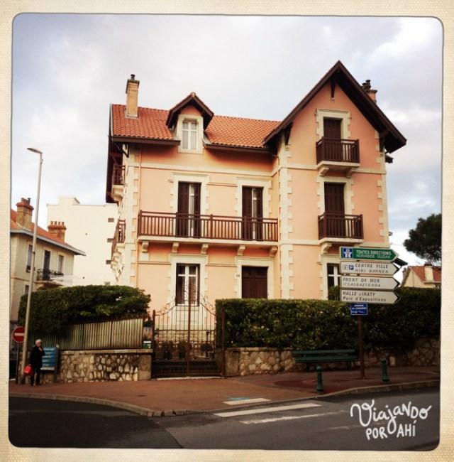 Chalet en Biarritz (Fotografía: Aniko Villalba)