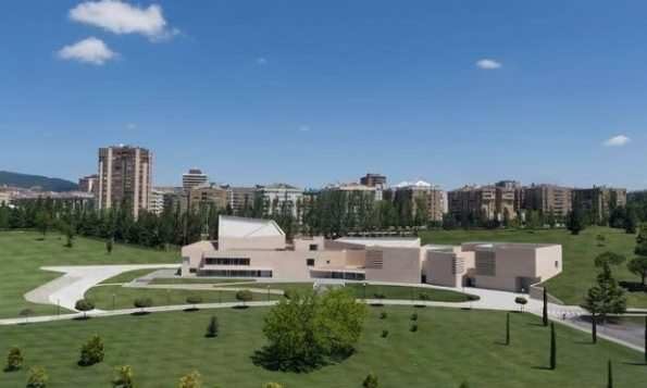 Bully for Pamplona … the new Museo Universidad Navarra PR