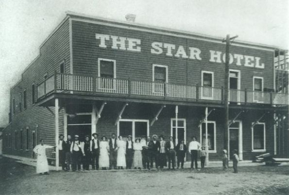 This photo of The Star Hotel in Elko was taken in 1918. (Northeastern Nevada Museum)