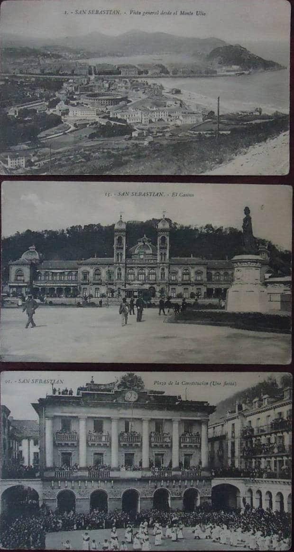 San Sebastián Vista general/El Casino/ Plaza de la Constitución