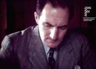El Lehendakari Agirre en un fotograma del documental sobre su vida en New York