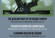 Exhibición en la Euskal Etxea de Shanghai sobre la Marina Auxiliar de Euzkadi