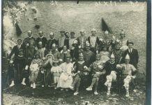 Pastorale Charlemagne représentée par le village d'Ossas en 1925 (Musée Basque et de l'histoire de Bayonne)